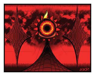 Temple of the Creepy Eye by deathoflight