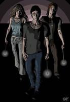 Harry Potter -- Trio by deathoflight