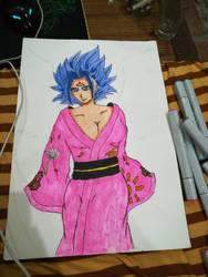 Claulifia ssj blue :3  by HaiKaiser12