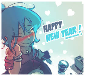 Happy New Year 2019 by V4lii