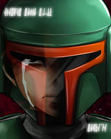 A Mandalorian never forgets by rayn44