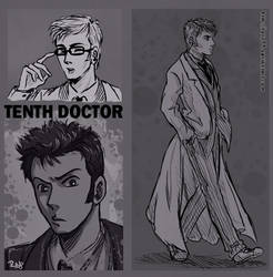 Tenth Doctor by rayn44