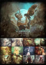 ClairObscur Fantasy Art Calendar 2017 by clair0bscur