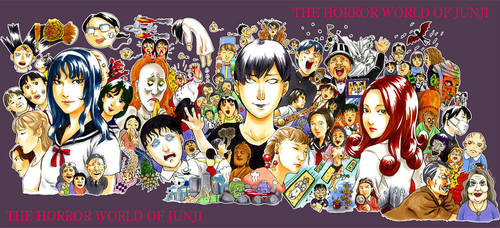 the horror world of Junji by shigeyan