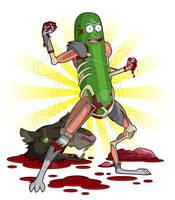 I'm Pickle Rick!! by ZombieGirl01