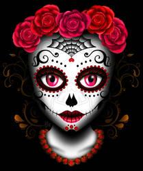 Day of the Dead Beauty by ZombieGirl01