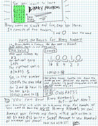 Learning Binary Numbers by KeatonLee