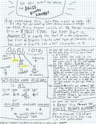 Learning ASCII Binary Alphabet by KeatonLee