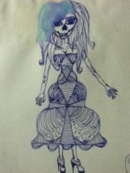 Lined Skelita by MissyChrissy101