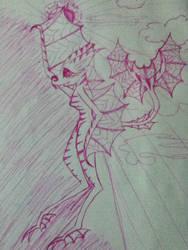 Lombax/Bat hybrid by MissyChrissy101