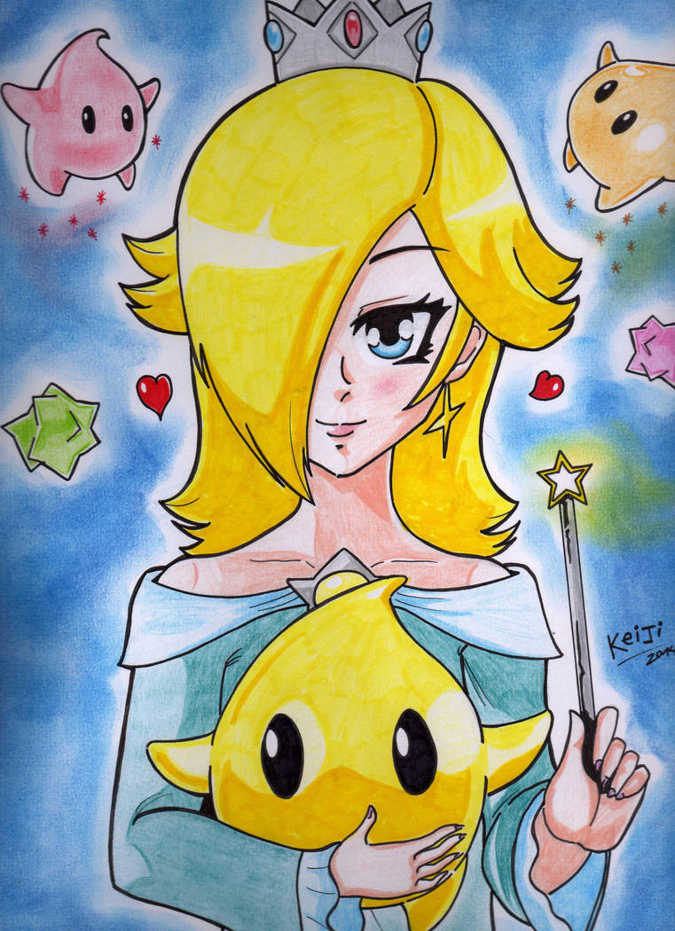Rosalina and Luma by Keijisuke