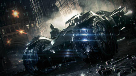 Batman: Arkham Knight [Wallpaper] by PhetVanBurton