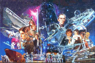 Star Wars [Wallpaper] by PhetVanBurton