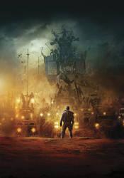 Mad Max: Fury Road [Hi-Res Textless Poster] by PhetVanBurton