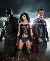 Batman v Superman: Dawn Of Justice by PhetVanBurton