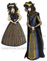 The Nobles by threevoices