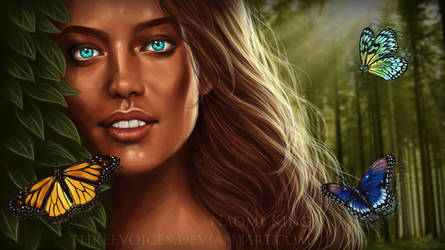 Daughter of Nature by threevoices