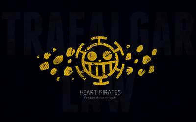 Minimalistic Heart Pirates wallpaper by fogdark