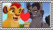 Kion x Janga Stamp 2 by Larrydog123