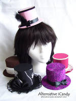 Mini Top Hats Collection by alternativeicandy