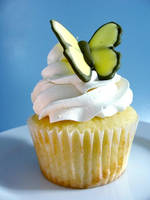 Butterfly Cupcakes by bittykate