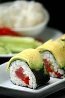 Tuna Red Pepper Roll 1 by bittykate