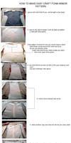 tutorial chest craft foam by okageo