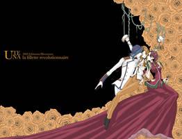 Utena:Juri,Ruka and Shiori by ichimura