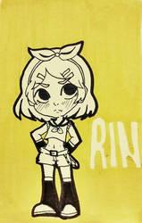Rin by RainPaper