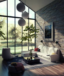 High Living Room by Icesturm
