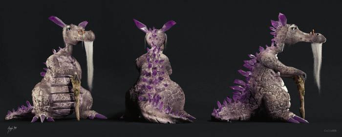 Grandpa Dragon by Icesturm