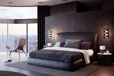 Hotel Room ArchViz by Icesturm