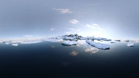 360 Degree Antarctica Render | Blender Cycles by Icesturm