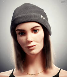 Realistic Human Portrait Study by Icesturm