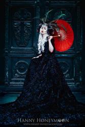 Red Umbrella by AlienPainkiller