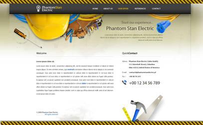 Phantom Stan Electric Web by lukeliszka