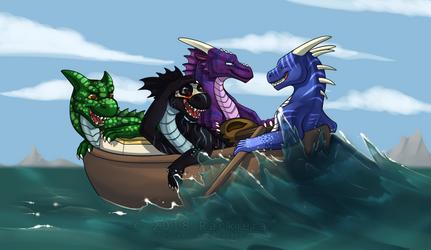 Sea of Dorks by FireDragon97