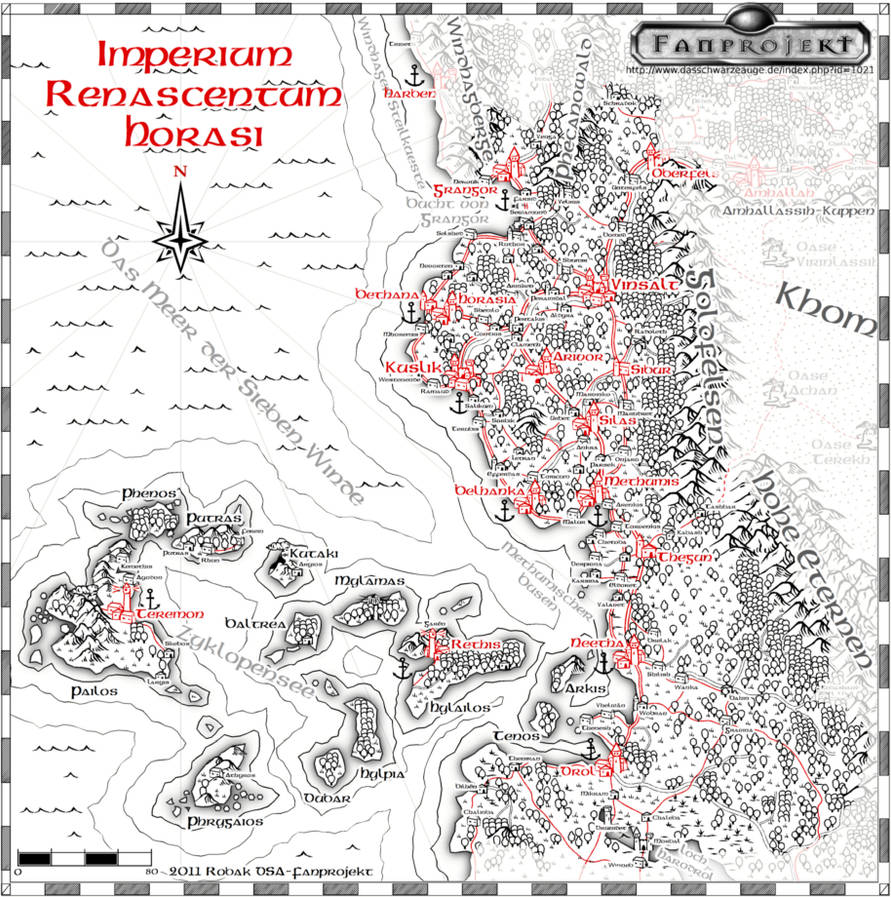 horasreich karte Horasreich Karte | Karte
