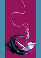 Spider-Gwen by Chipmunkdino