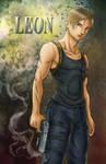 Resident Evil - Leon by shrouded-artist