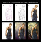 Leon - Progress Picture by shrouded-artist