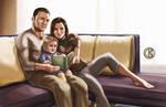 Miranda and Shepard Ending by shrouded-artist