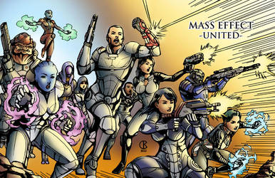 Mass Effect - United by shrouded-artist