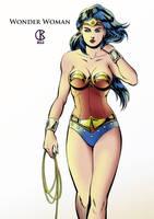 Wonder Woman by shrouded-artist