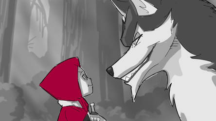 Little Red Riding Hood - Storyboard Animatic by shrouded-artist