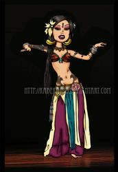 Sharon Kihara - The Indigo by kaberaldo