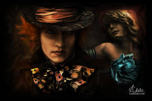 Alice and the Mad Hatter by ClaireAdele