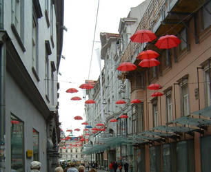 umbrellas by GreenDolphin