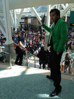 Lupin III top of the stairs (Anime Expo 2014) by LLCoolZJ