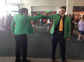 Lupin III Green vs. Green (Anime Expo 2014) by LLCoolZJ